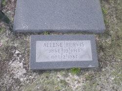 Allene <i>Purvis</i> Allen