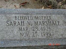 Sarah V. <i>Marshall</i> Coleman