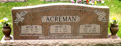Mamie Lee <i>Davis</i> Acreman