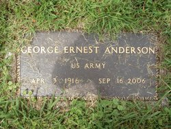 George Ernest Anderson