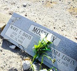 Mary E <i>Davis</i> Moseley