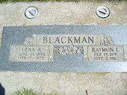 Erna K <i>Persch</i> Blackman