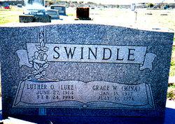 Grace Wilhelmina Mina <i>Holt</i> Swindle