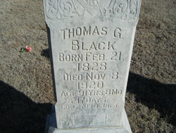 Thomas G Black