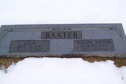 William Wilson Baxter
