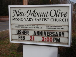 New Mount Olive Missionary Baptist Church