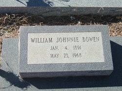 William Johnnie Bowen