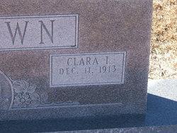 Clara I. Brown