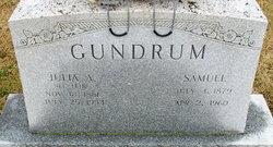 Julia A <i>Lehr</i> Gundrum