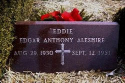 Edgar Anthony Eddie Aleshire