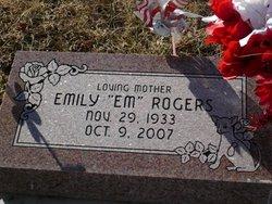 Emily Ruth Aunt Em <i>Brent</i> Rogers