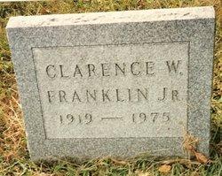 Clarence W Franklin, Jr