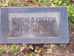 Mannie Belle <i>Laidley</i> English