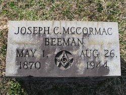 Joseph C McCormac Beeman
