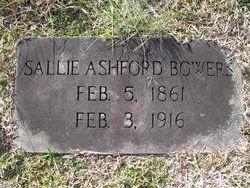Sallie Ashford <i>Williams</i> Bowers