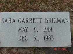 Sara <i>Garrett</i> Brigman