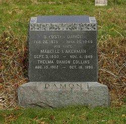 Mabelle I. <i>Akerman</i> Damon