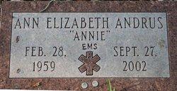 Ann Elizabeth Annie Andrus