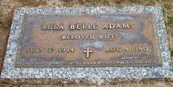 Lula Belle <i>Hamilton</i> Adams