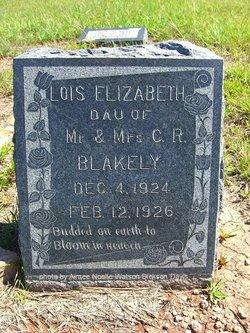 Lois Elizabeth Blakely