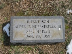 Alden Price Huffstetler, III