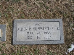 Alden Price Huffstetler, Jr