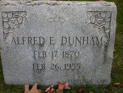 Alfred E. Dunham