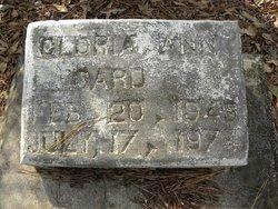 Gloria Ann Card