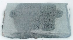 Mamie Leigh <i>Hoggard</i> Beasley