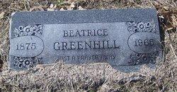 Mrs Beatrice <i>Turner</i> Greenhill