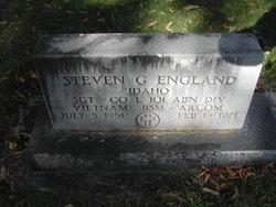 Sgt Steven Glenn ENGLAND