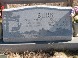 Goldie Hazel <i>Taulman</i> Burk