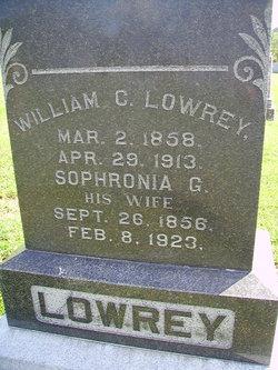 Sophronia G Lowrey