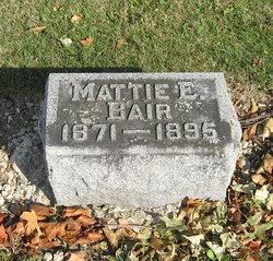 Mattie E Bair