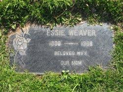 Mary Theressa Essie <i>Curtis</i> Weaver