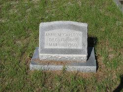 Abbie Mae <i>Goff</i> Carlton