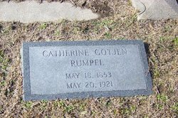 Catherine <i>Gotjen</i> Rumpel