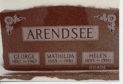 Mathilda <i>Hoff</i> Arendsee