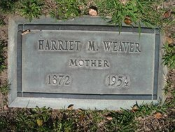 Harriet May <i>Curtis</i> Weaver