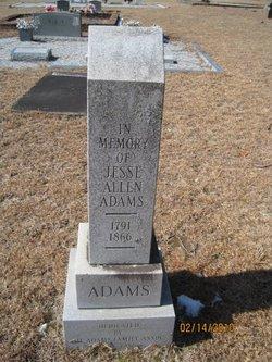 Jesse Allen Adams