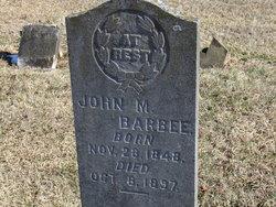 John Martin Barbee