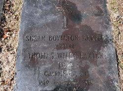 Susan <i>Boylston</i> Baxter