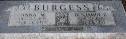 Anna M Burgess