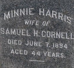Minnie <i>Harris</i> Cornell