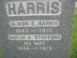 Sarah A. <i>Stafford</i> Harris