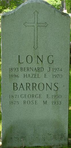 Rose M. <i>Elmer</i> Barrons