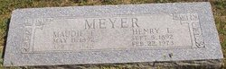 Maudie F. <i>Williams</i> Meyer