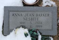 Anna Jean <i>Barker</i> Nesbitt