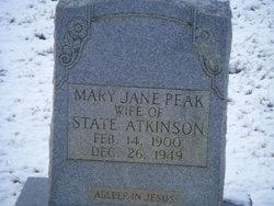 Mary Jane <i>Peak</i> Atkinson