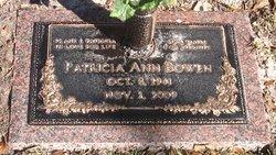 Patricia Ann <i>Culbertson</i> Bowen